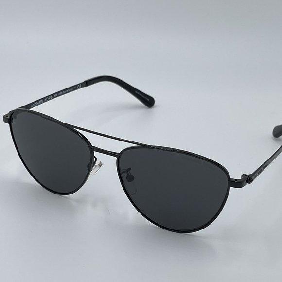 MICHAEL KORS MK1056 Black Aviator Sunglasses NWT